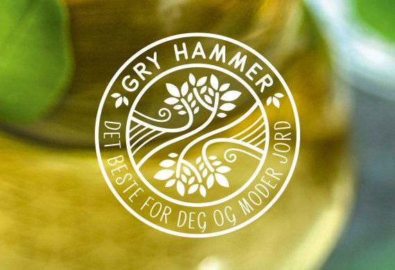 Gry Hammer identitetsdesign