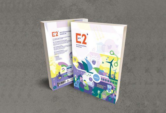 E2 Internasjonal engelsk – bokomslag for Gyldendal Undervisning